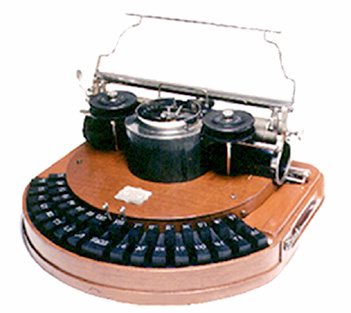 Hammond No. 1 Typewriter- Circa 1883