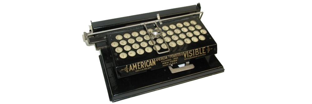 American Index Typewriter
