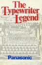 The Typewriter Legend edited by Frank T. Masi