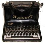 Burnett Typewriter