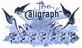 Caligraph Typewriter Logo