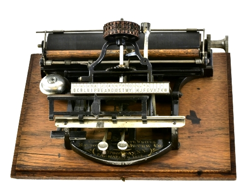 Crown Index Typewriter