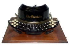 The Franklin Typewriter