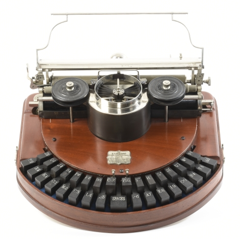 Hammond No. 1 typewriter
