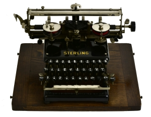 Sterling typewriter